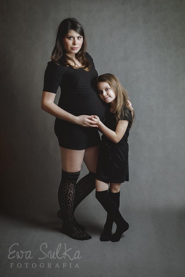 zdjęcia dzieci wrocław fotograf dziecięcy Magda i Aga sesja ciążowa 1
