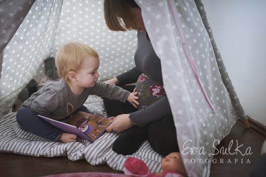 fotofraf dziecięcy wrocław sesja domowa jeden dzień z życia sesja ciążowa ciąża wrocław  28