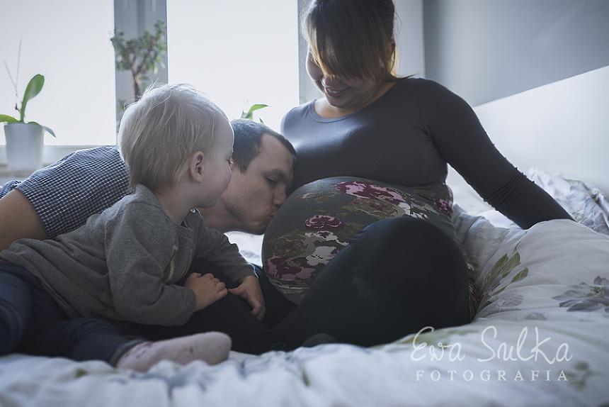 fotofraf dziecięcy wrocław sesja domowa jeden dzień z życia sesja ciążowa ciąża wrocław 15