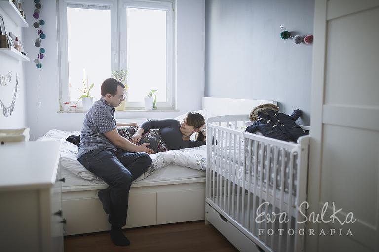 fotofraf dziecięcy wrocław sesja domowa jeden dzień z życia sesja ciążowa ciąża wrocław 3